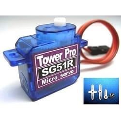 Servo micro SG51 5g / .7kg / .10sec