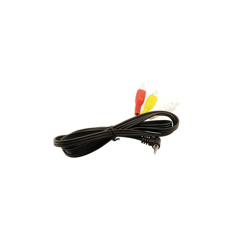 Cable AV Universal con conector acodado