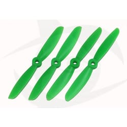 Helices Verdes drone 5x4.5 normal+invertida (4) bullnose