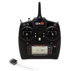 Emisora Spektrum DX6 G3 DSMX Diversity telemetria + AR6600T