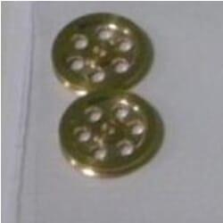 Polea de bronce 5/1,5 (2 pcs)